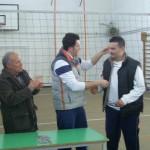 Premiazione arbitro